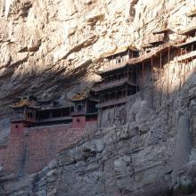 Wisząca świątynia 60 km od Datong