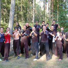 Finlandia 2013 wspólny obóz z shifu Brendanem Tunks