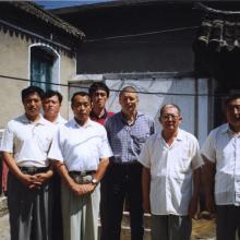 Penglai z mistrzem Yu, uczniami i synem mistrza Luo Guangyu