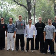 Tianjin 2012 z mistrzem Zhou Jingxuan