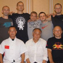 Tianjin 2012 z mistrzem Zhou i jego nauczycielem