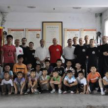 Yantai 2010 z shishu Yu Tianlu i uczniami