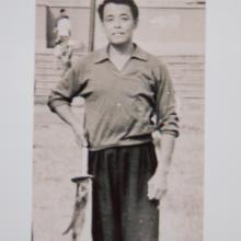 mistrz Yu z halabardą