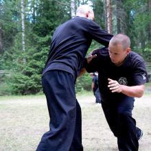 trening zapaśniczy shuai fa
